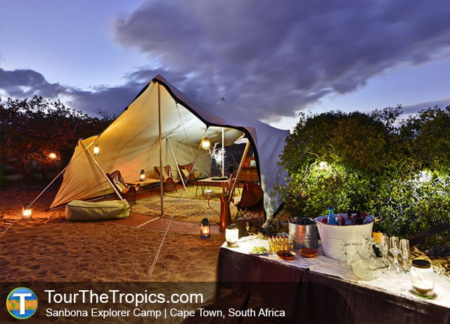 Sanbona Explorer Camp - Sanbona or Shamwari