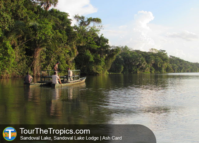 Sandoval Lake Lodge - Jungle Lodges Peru