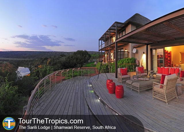 The Sarili Lodge - Shamwari Game Reserve Lodges