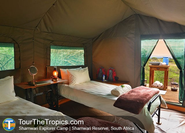 The Shamwari Explorer Camp - Luxury Tours in South Africa