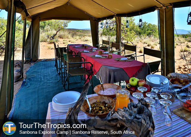 Sanbona Explorer Camp - Luxury Tours in South Africa