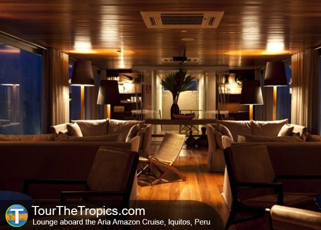 Aria Amazon Cruise Lounge, Iquitos, Peru