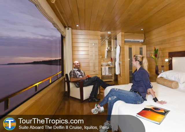 Delfin II Suite - Iquitos Amazon River Tours